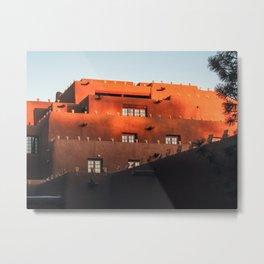 Santa Fe Architecture Metal Print