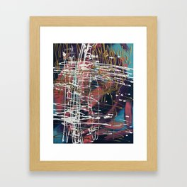 Cliff's Edge Framed Art Print