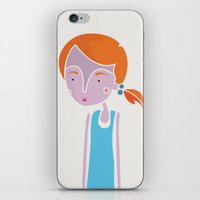 ginger iPhone & iPod Skins featuring Ginger by Guts N' Gore