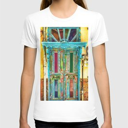 Beautiful Multi-Colored Doorway Photograph T-shirt