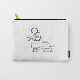 love mom - mother day Carry-All Pouch