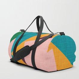 Kilim flower Duffle Bag