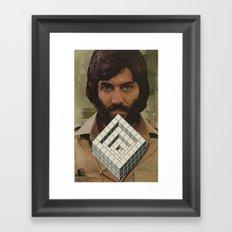 Hypercube Framed Art Print