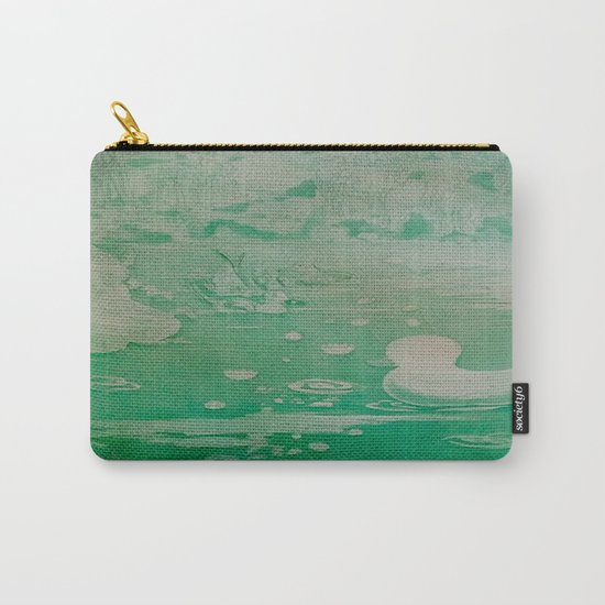 MoonSea Fantasy lightgreen Carry-All Pouch