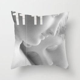 Angel Hour Throw Pillow