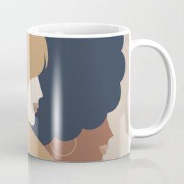Girl Power portrait - we persist - Earthy #girlpower Coffee Mug