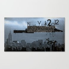 New York 2012 Canvas Print