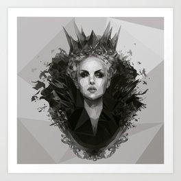 Snow white Witch Art Print