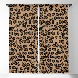 Digital Leopard Blackout Curtain