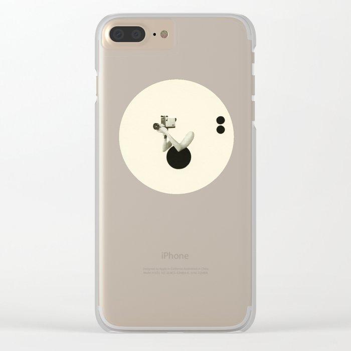 Film Noir Clear iPhone Case