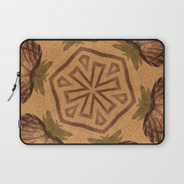 Fat Pineapple and Star Laptop Sleeve
