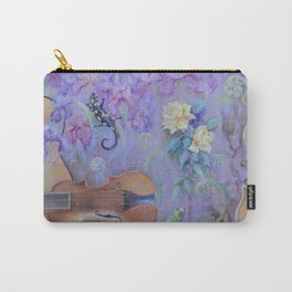 MAGIC VIOLIN Ultraviolet pastel composition inspired by music and farytale Carry-All Pouch