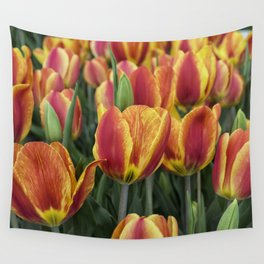 Orange Tulips on Cape Ann Wall Tapestry