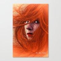 redhead Canvas Prints featuring redhead by Nuria Mrtz. FotoArt