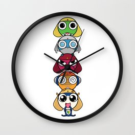 Leap Frogs in Space!! Wall Clock