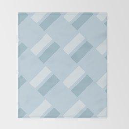 Neapolitan Blue Throw Blanket