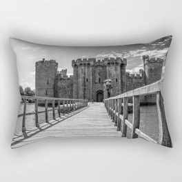 Who Goes There? Rectangular Pillow