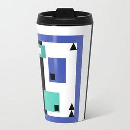 Black N Blueprint Travel Mug