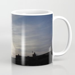 Silhouettes at Sunset Coffee Mug
