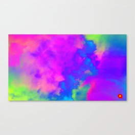Qpop - Cloud Bubbles Canvas Print
