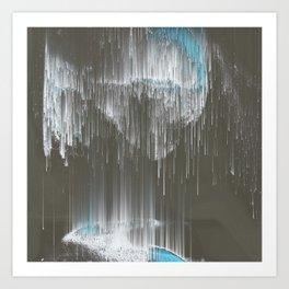 Stars rain Art Print