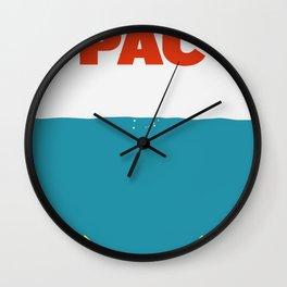 PAC( jaws) Wall Clock