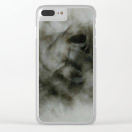 """""""Smoke and Bones"""" Clear iPhone Case"""