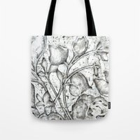 lace Tote Bags featuring Lace by Isdsfsf