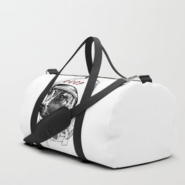 laika, space traveler Duffle Bag