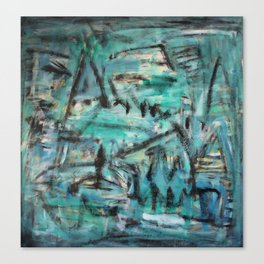 tons verdes Canvas Print