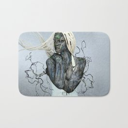 As you sow, so shall you reap. Bath Mat