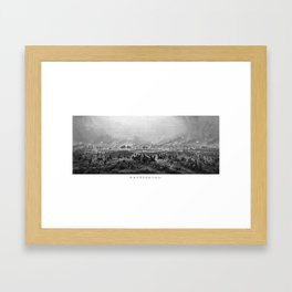 Gettysburg -- Civil War Framed Art Print