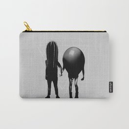 Couple B&W Carry-All Pouch