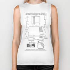 Entertainment System (light) Biker Tank