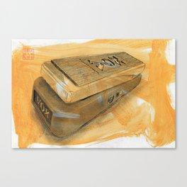 Wah wah pedal Canvas Print