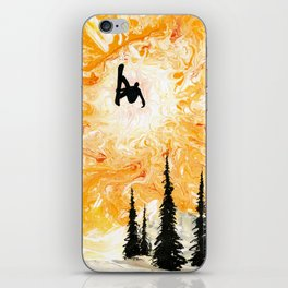 Fire Sky iPhone Skin