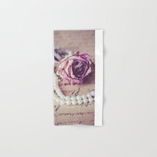 Love Letter II Hand & Bath Towel