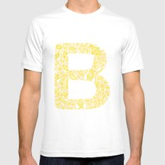 - save the B's - Mens Fitted Tee White MEDIUM