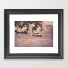 Julians Journey 6 | in the midst of the storm Framed Art Print