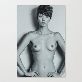 5993 Natasha Au Naturel - Boudoir Eros Studio Beauty Nude Canvas Print