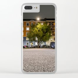 Urban Nature, Vesterbro, Copenhagen Clear iPhone Case
