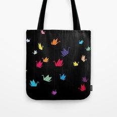 Origami cranes Tote Bag