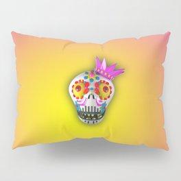 King Skull Pillow Sham