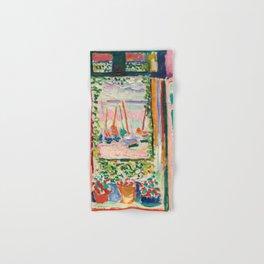 Henri Matisse The Open Window Hand & Bath Towel
