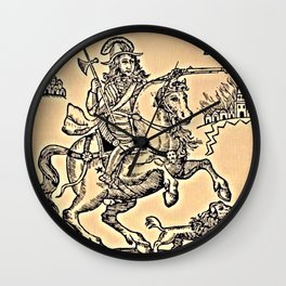 The Cruel Practices of Prince Rupert Wall Clock