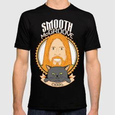 Smooth McGroove Black LARGE Mens Fitted Tee