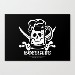 Beerate Canvas Print