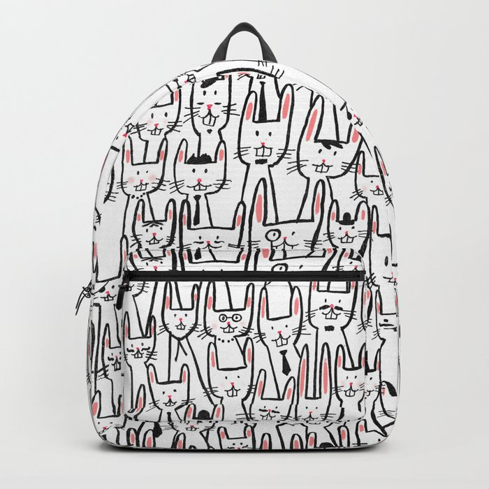 Bunny family Backpack