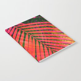 COLORFUL TROPICAL LEAVES no2 Notebook