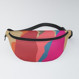 Three women carrying water 1 Fanny Pack